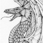"""The dragons with their tongues Might poison thy liver & lungs!""  John Skelton - A Curse on the Cat"